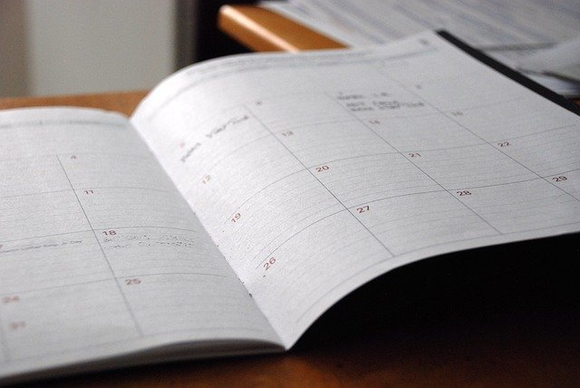 Day Planner Calendar Organizer  - Free-Photos / Pixabay